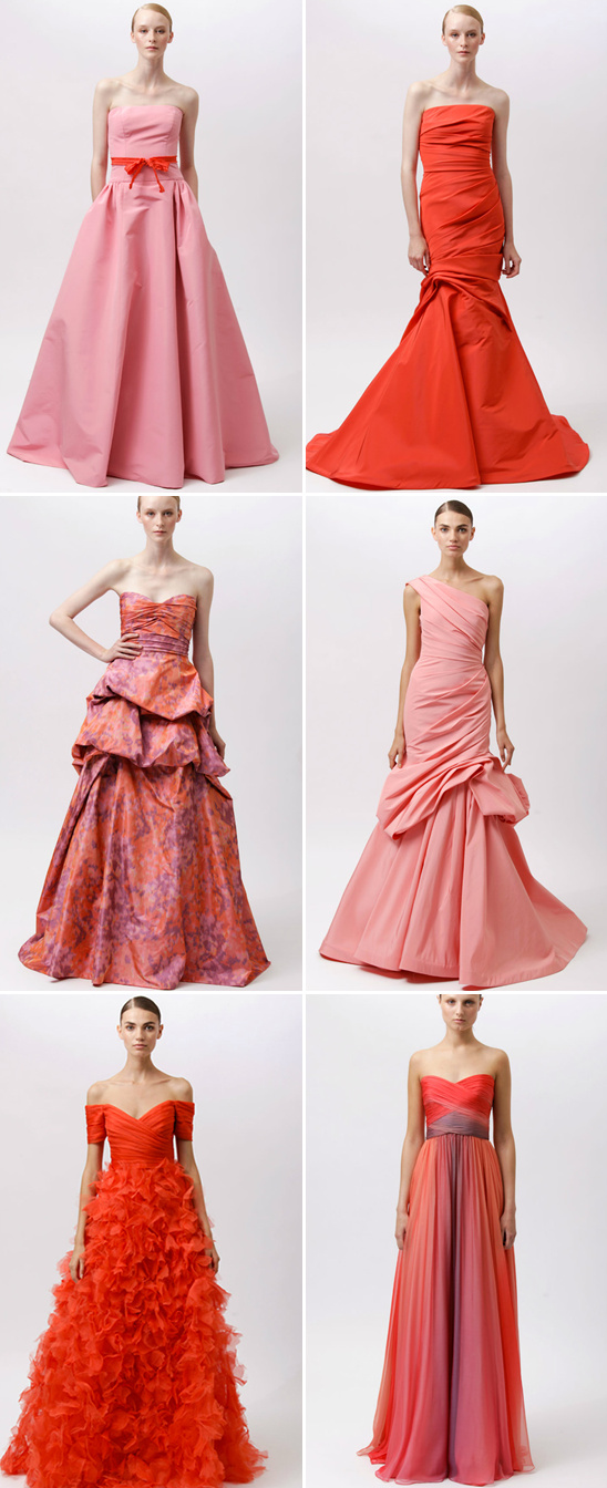 2012 Monique Lhuillier Resort Collection