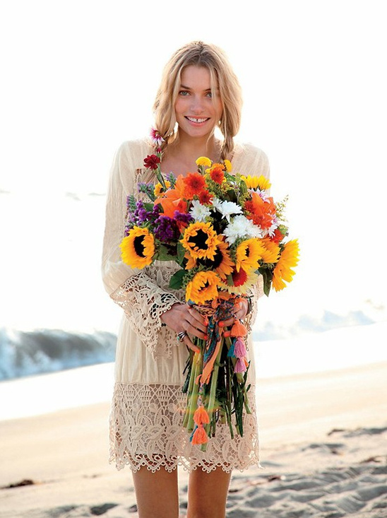 Boho Chic Beach Wedding Ideas