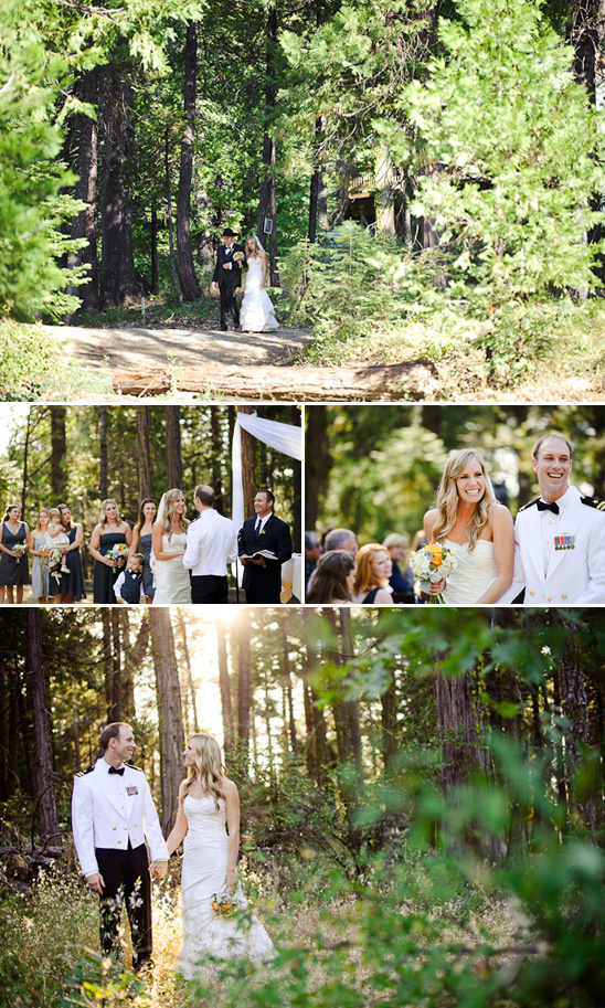 Woodsy Rustic Wedding In Paradise Springs