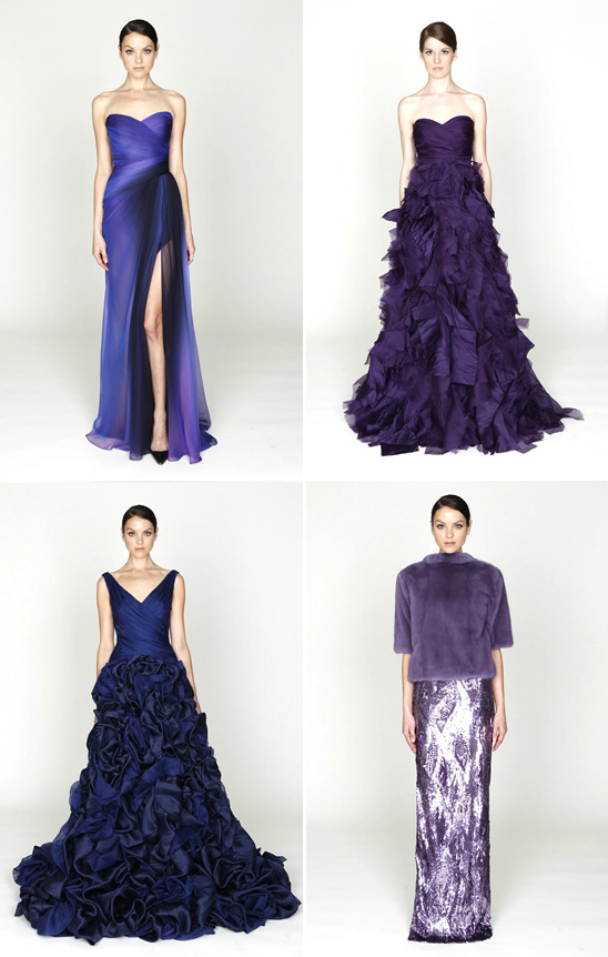 2012 Monique Lhuillier Pre Fall Collection