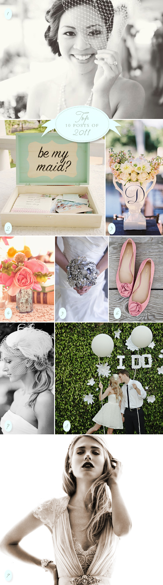 Wedding Chicks Top 10 Posts of 2011