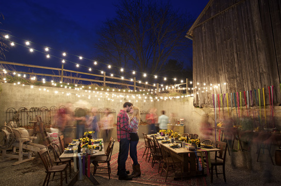 Footloose Themed Engagement Party