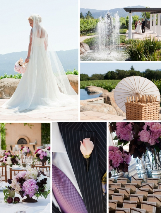 I Do Venues Design Inspiration: Napa Loves Lilac