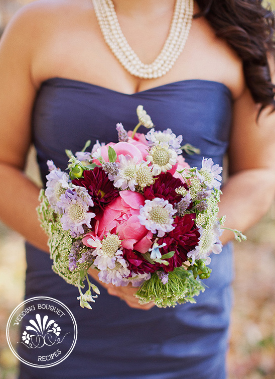 Pink And Lavender Wedding Bouquets