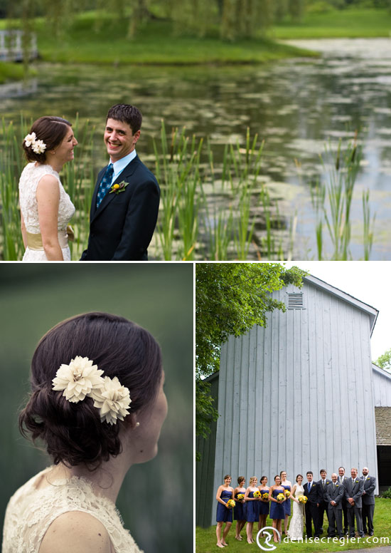 DIY Rustic Wedding at Wesleyan Barns, Connecticut