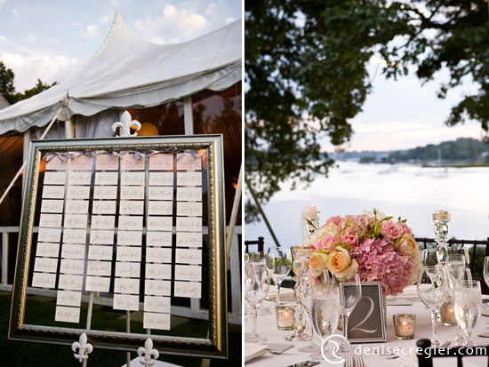 Elegant pink & gray wedding on Long Island Sound