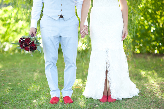 Baby Blue and Red Wedding Ideas