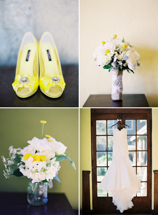 Rustic Chic Yellow Wedding Ideas
