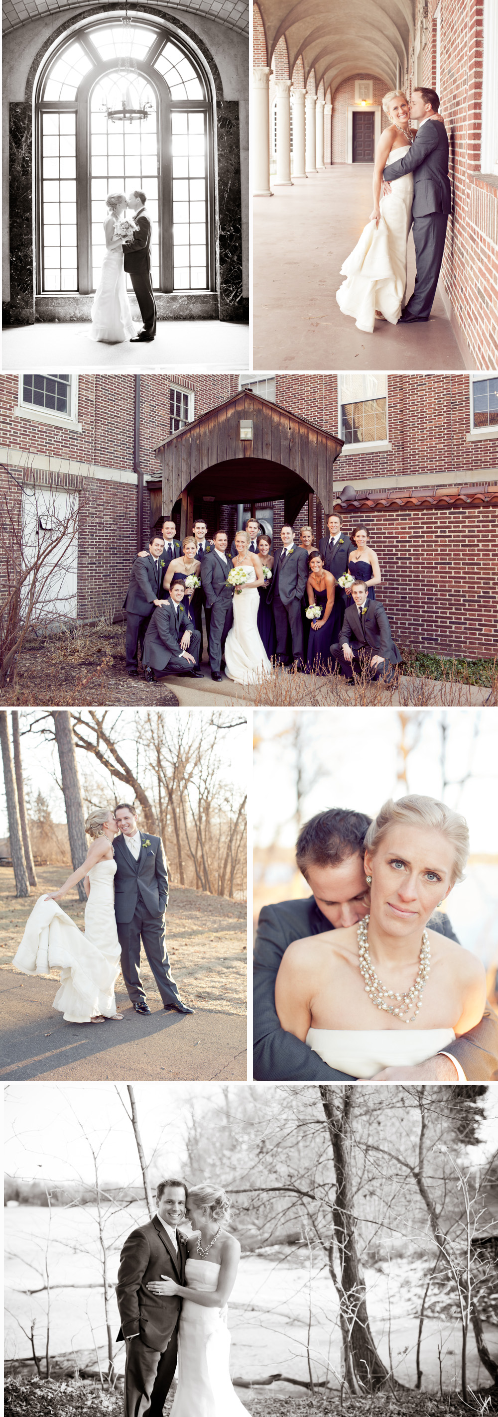 Midwestern Winter Wedding by Paige Winn Photo