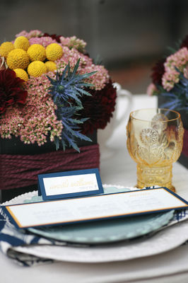 Fall Inspired Wedding Decor