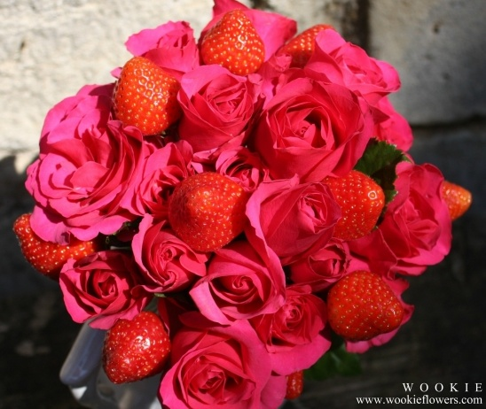 Strawberry Bouquets!