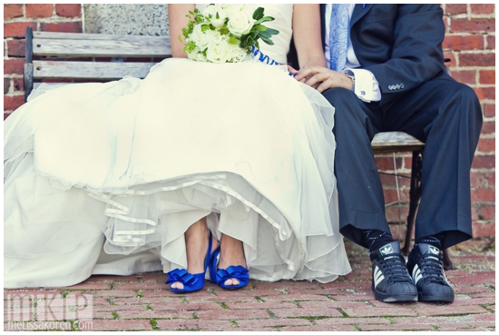 Cobalt Blue Romantic Wedding