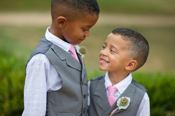 Ring Bearers in Suits