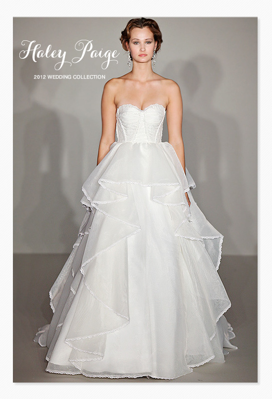 Hayley Paige 2012 Wedding Dress Collection
