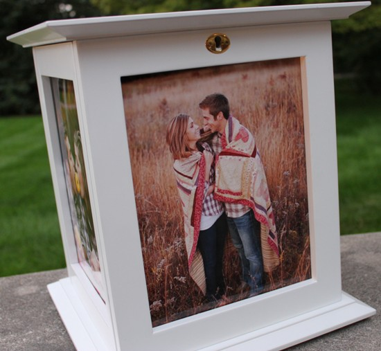 Wedding Card Boxes For Receptions: Picture Frame Wedding Card Box On Sale