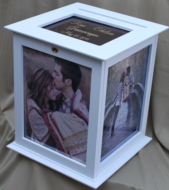Picture Frame Wedding Card Box On Sale