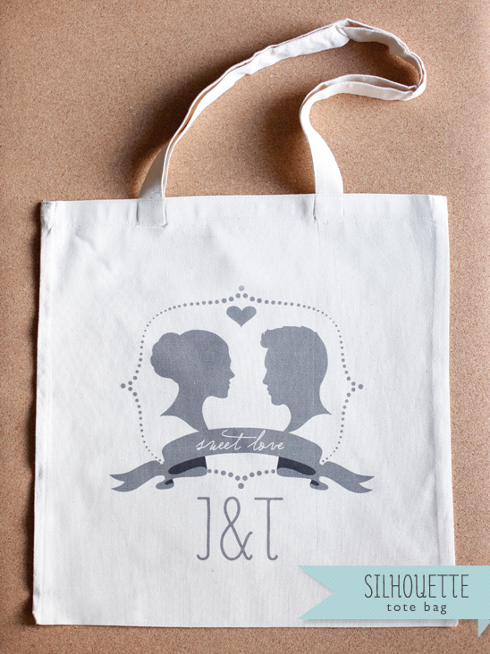 Free Customized Silhouette Wedding Monogram