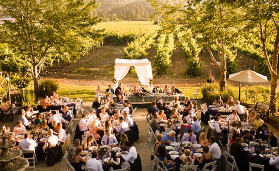 Wine Country Wedding Venue: The Harvest Inn by Melissa Mermin