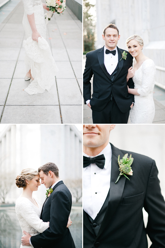 Portland Temple Wedding