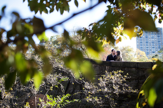 Playful Central Park Engagement