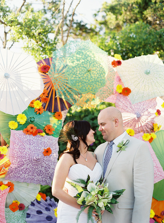 Colorful Santa Barbara Wedding