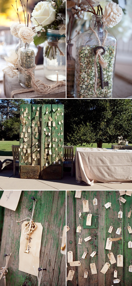 Shabby Chic Wedding With A Formal Twist
