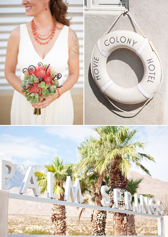 Graphic Designer's Palm Springs Wedding