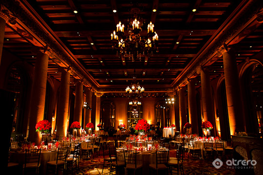 millennium biltmore emerald wedding