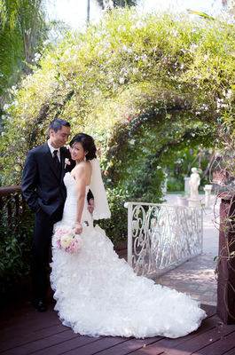 Shabby Chic Garden Wedding