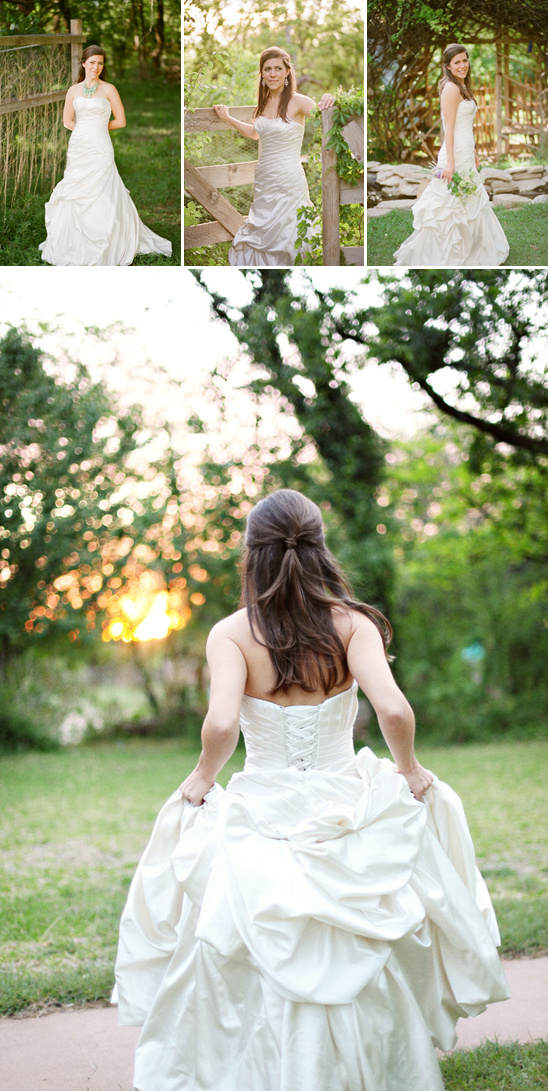 Organic Garden Bridal Session