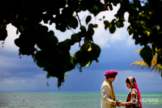 Sikh Wedding at the Moon Palace Resort, Riviera Maya, Mexico