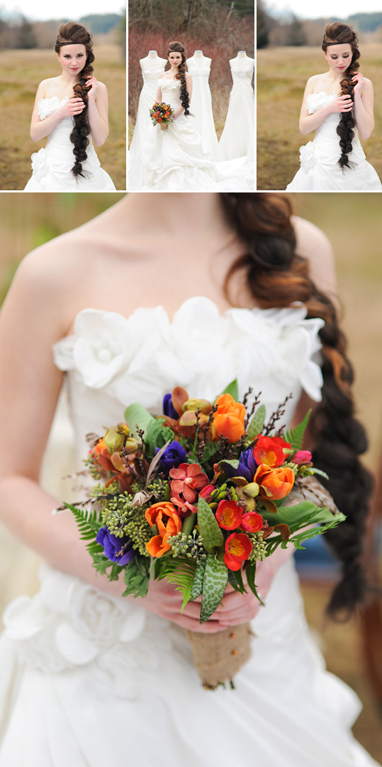 Hunger Games Wedding Inspiration
