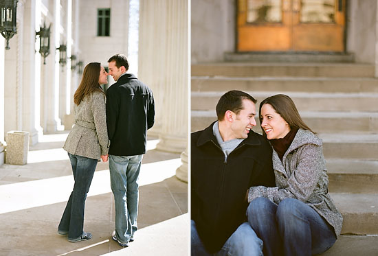 University of Minnesota Engagement Session by Amy Rae Photography