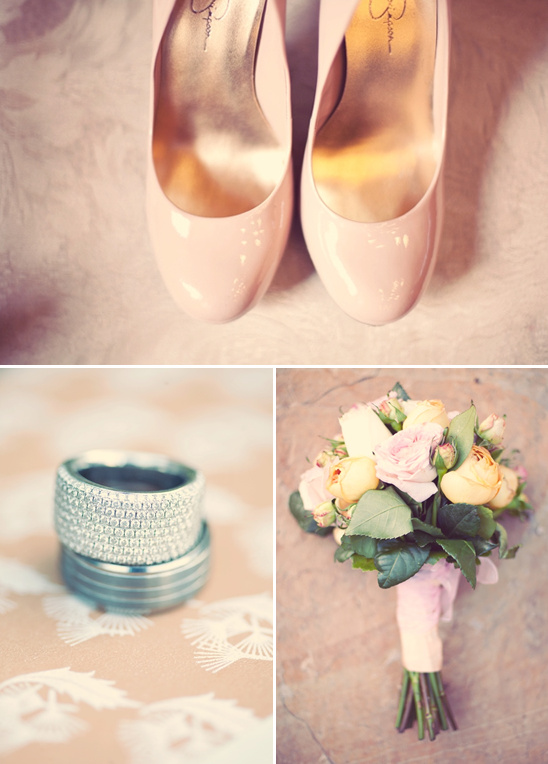 Peach Utah Wedding