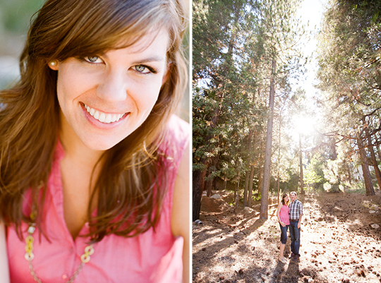 A Lake Arrowhead Engagement . Picotte Weddings Photography