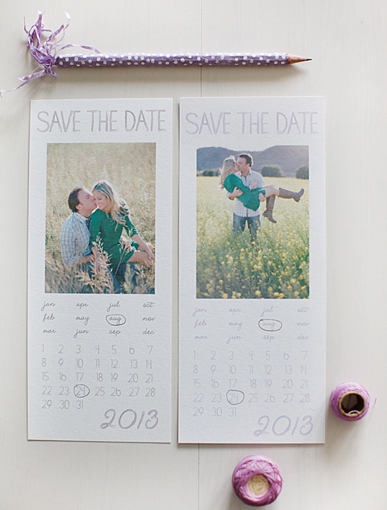 2013 Watercolor Save the Dates