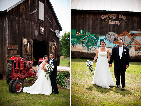 Minnesota Farm Wedding by Amy Rae Photography