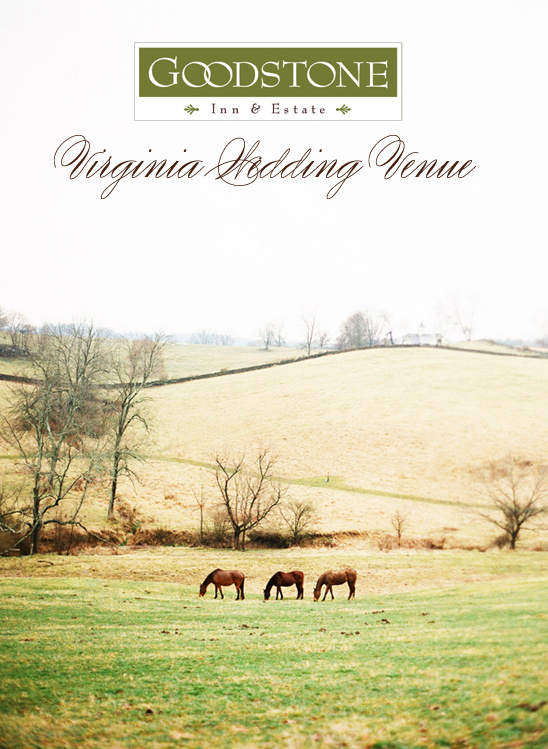 The Goodstone Inn | Virginia Wedding Venue