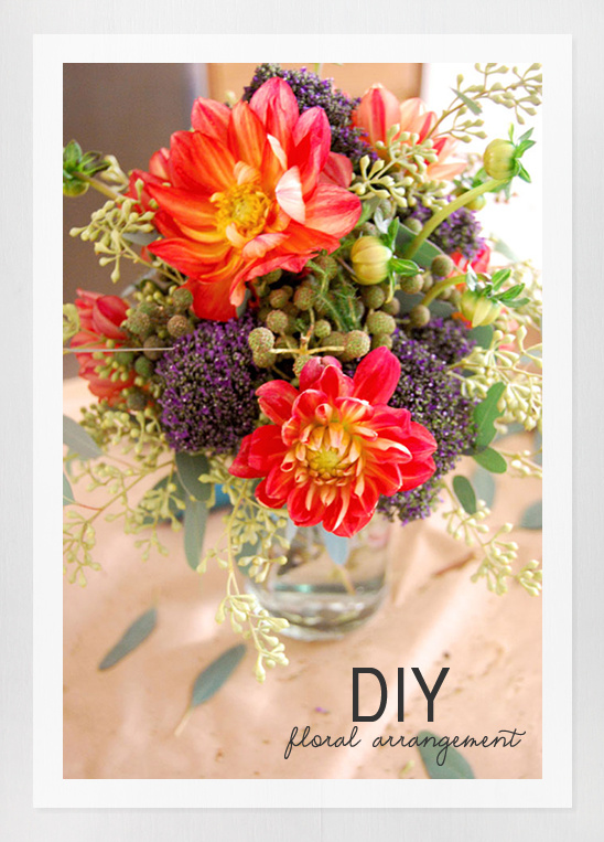 Diy Easy Floral Arrangement