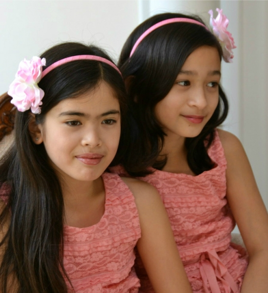 Adorable Flower Girls Headbands