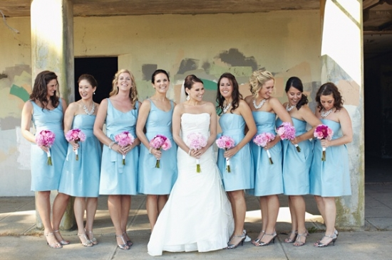 A Pastel Seaside Wedding