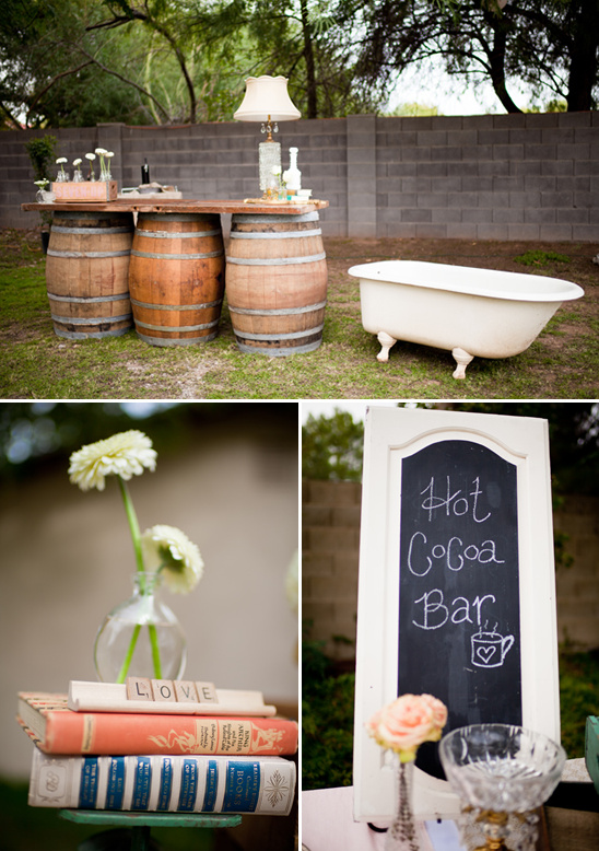 Mesa, Arizona Shabby Chic Wedding