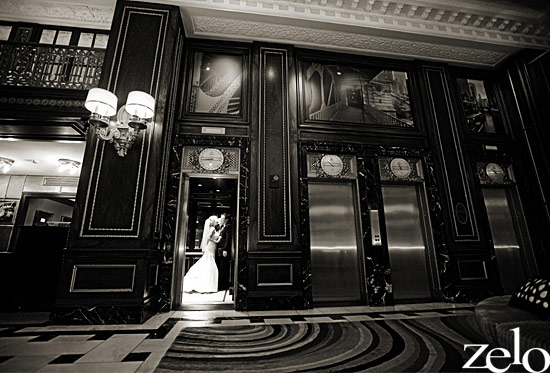 chicago-bride-and-groom-blackstone-hotel