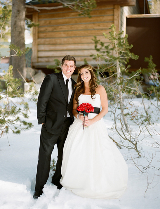 Snowy winter wedding ideas junglespirit