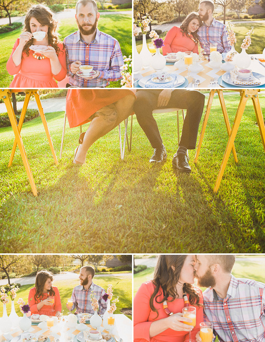 Spring Time Engagement