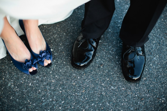 Blue-Themed Wedding at Elm Bank