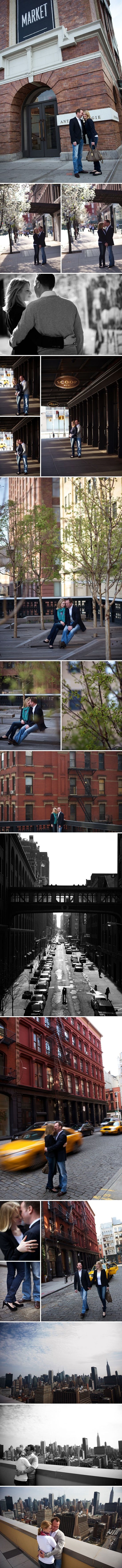 NYC Engagement Photographer | Andrea & Marcus