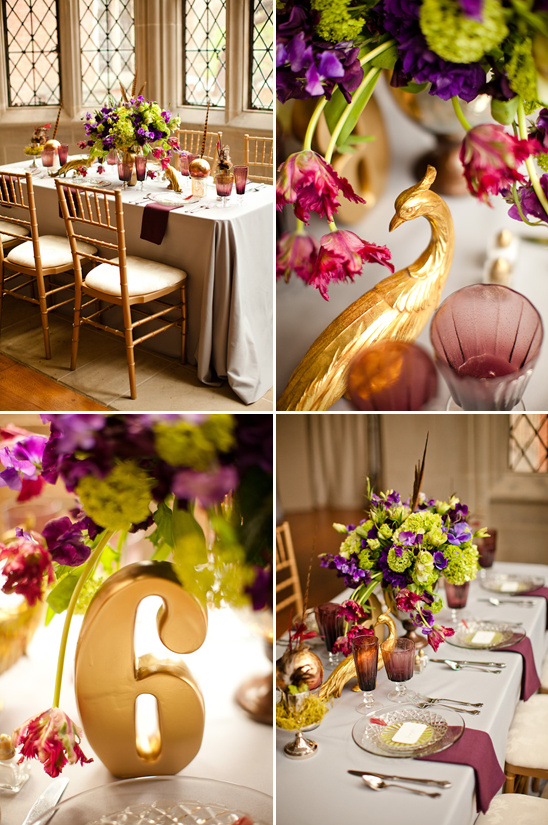 Purple And Gold Wedding Ideas