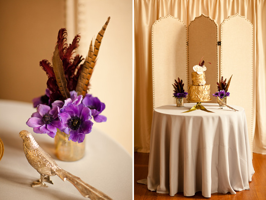 Purple and gold wedding ideas junglespirit Choice Image