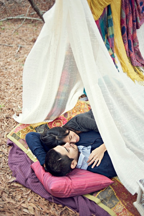 Camping Engagement Session by Sarah McKenzie Photography